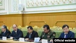 Заседание Совета безопасности Таджикистана. Фото пресс-службы президента РТ