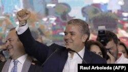 Иван Дуке, победитель президентских выборов в Колумбии.