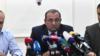 ARF member Artsvik Minasian at a press conference in Yerevan, 8Nov2019