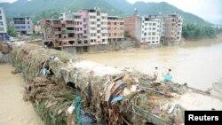 """Tajfun """"Nepartak"""", Kina, 11. juli 2016."""