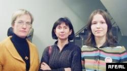 Екатерина Пригарева, Юлия Калинина и Мария Смирнова