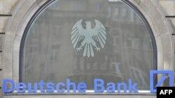 ساختمان «دویچه بانک» در فرانکفورت آلمان