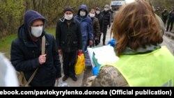 Останній обмін утримуваними особами, КПВВ Майорськ, 16 квітня 2020 року