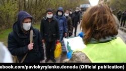 Обмін на КПВВ Майорськ, Донецька область, 14 квітня