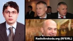 Дмитро Крючков, брати Суркіси, Ігор Кононенко