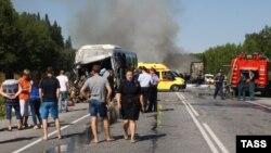 Վթար Կրասնոյարսկում, 22-ը հուլիսի, 2015թ.