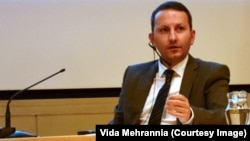 Ahmadreza Jalali, a Swedish-Iranian researcher jailed and sentenced to death in Iran.