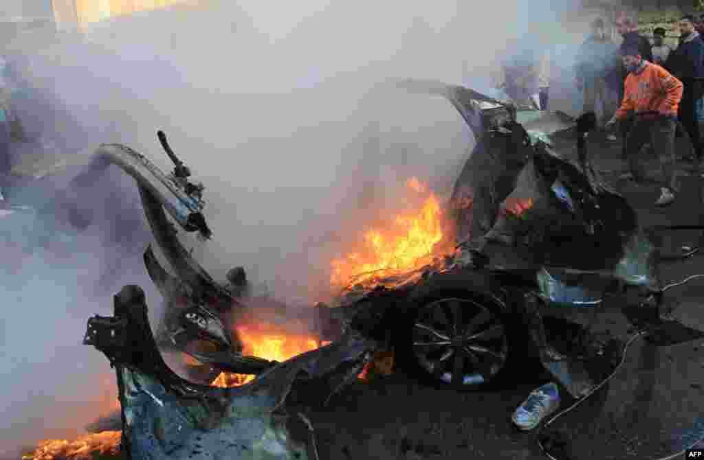 Ahmed-Al Jabbari-nin getdiyi maşın havadan raket atəşi ilə məhv edilib