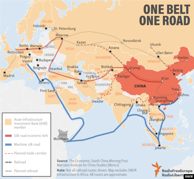 Chinas Massive One Road Project Largely Bypasses Russia But