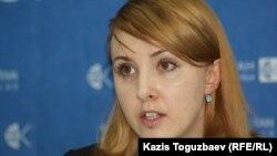 Анастасия Миллер, директор Костанайского филиала Казахстанского бюро по правам человека.