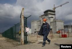 Сховище відпрацьованого ядерного палива, яке будується