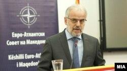 Претседателот на Собранието на Република Македонија Талат Џафери