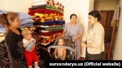 Фото взято с сайта администрации Сурхандарьинской области.