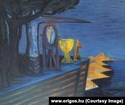 """Картина Эла Казовского """"Необитаемый остров"""", холст, масло, 120 х 143 см"""