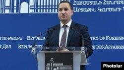 Пресс-секретарь МИД Армении Тигран Балаян (архив)