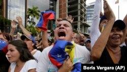 Антиправительственные выступления в Каракасе, 29 января 2019 г.