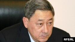 Бактыкожа Измухамбетов в бытность акимом Западно-Казахстанской области. Уральск, 26 января 2010 года.