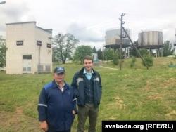 Станіслаў Халадовіч (зьлева) і Антон Агароднік