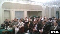 المشاركون في المؤتمر الأول لمجلس رجال الأعمال العراقي البريطاني ببغداد، 31 تشرين الأول 2009