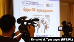 Kazakhstan – Regional Media Forum /journalist, mass-media, newspaper, TV/. Almaty, 20Sep2010