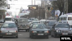 Kyrgyzstan imports used right-hand drive cars from Japan and Russia's Far East.