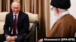 دیدار ولادیمیر پوتین و علی خامنهای در تهران، ۲۰۱۷