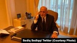 اشرف غنی رئیس جمهور افغانستان