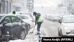 Сербияда абанын түнкү температурасы -20 градуска чейин төмөндөдү.