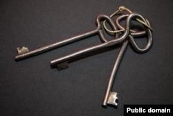 Ключ №3 від камери Стуса у таборі ВС-389/36 у селі Кучино на Середньому Уралі, де він відбував покарання і помер