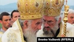 Patrijarh Irinej i episkop Jovan