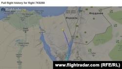 История полета рейса 7К9268