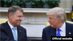 Klaus Iohannis a mai fost invitat la Casa Albă de Donald Trumo în iunie 2017
