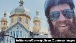 Фото зі сторінки Шона Конвея у Twitter @Conway_Sean