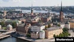 Տեսարան Շվեդիայի մայրաքաղաք Ստոկհոլմից