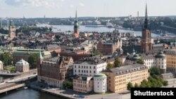Вид на Стокгольм, столицу Швеции.