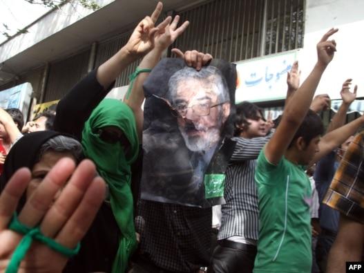 روز قدس پارسال و طرفداران جنبش سبز