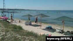 Отдых на Азовском море. Крым, село Мысовое Ленинского района, август 2020 года