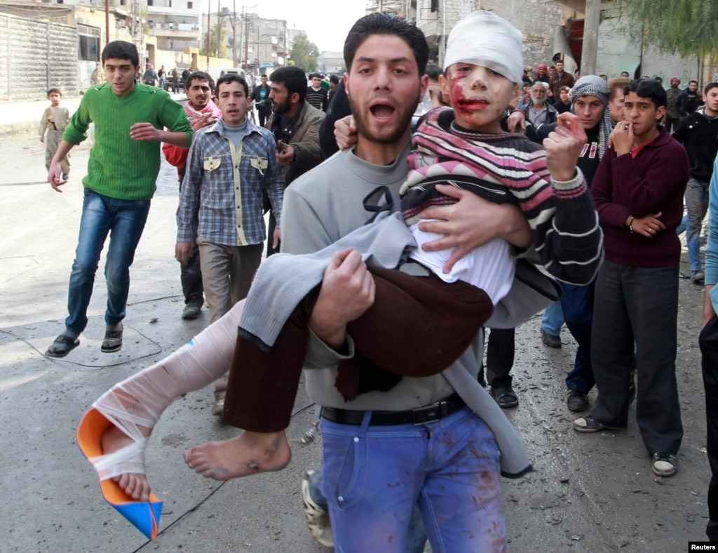 Сирия гражданская война