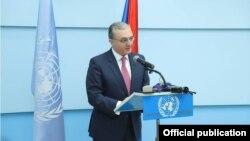 د ارمنستان د بهرنیو چارو وزیر