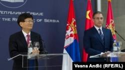Meng i Stefanović: Jača saradnja u oblasti bezbednosti
