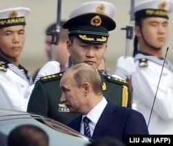 Володимир Путін під час візиту до Китаю, Пекін (архівне фото)