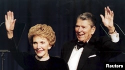 Nensi i Ronald Regan