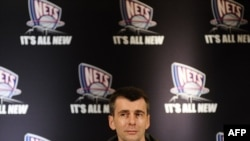Михаил Прохоров на пресс-конференции в Нью-Йорке