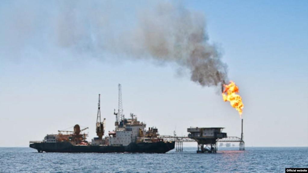 نفتکش ایرانی در خلیج فارس