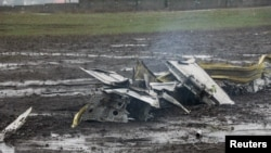 "Обломки самолета ""Боинг 737"", 19 марта 2016"