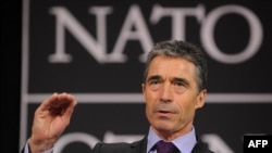 "NATO Secretary-General Anders Fogh Rasmussen said he was ""hopeful"" that NATO could reach agreement with the Russians on missile defense for Europe."