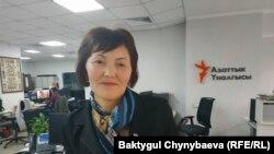 Зулмира Хожомамбетова.