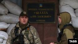 Сепаратисти на територіїі шахти імені Засядька