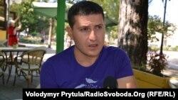 Кримськотатарський актор і режисер Ахтем Сейтаблаєв, Сімферополь, 27 вересня 2013 року