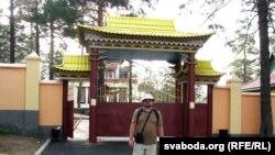 Аўтар ля новага чыцінскага дацану — будысцкага манастыра